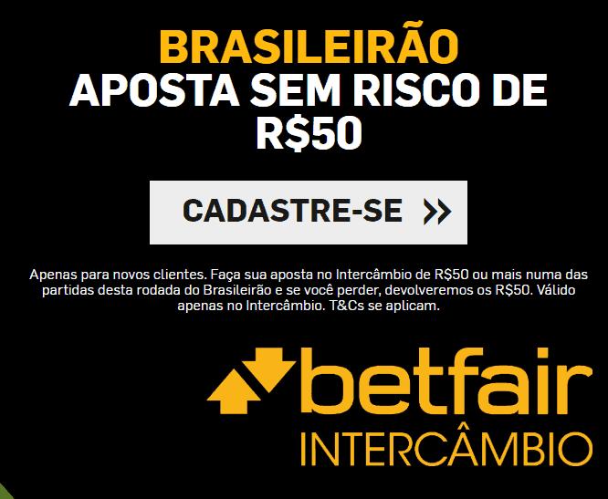 jogos Brasileirao Serie A de domingo na Betfair (22-09-2019)