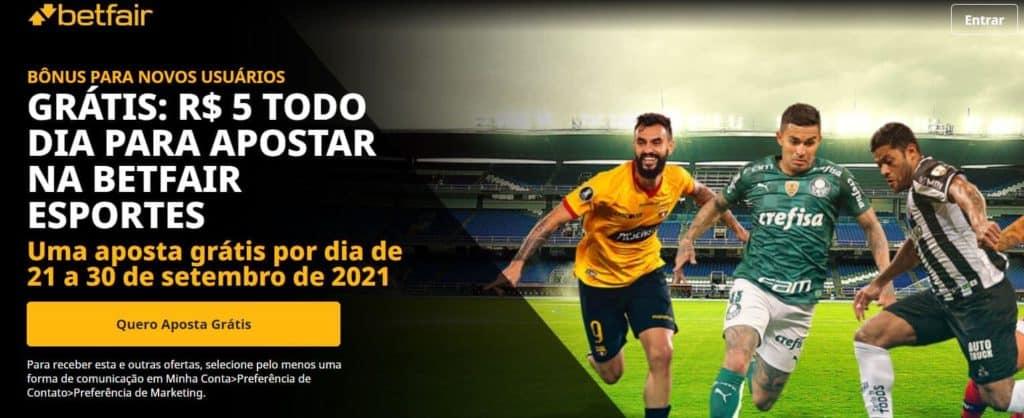 promoção Betfair jogos de quinta-feira 23-09-2021